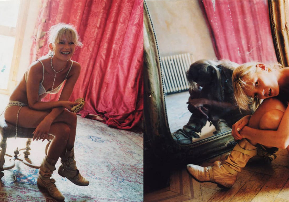 Kate Moss in Westwood Pirate Boots
