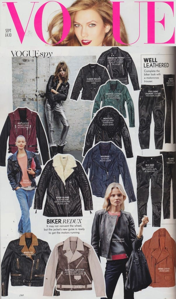 Muubaa Nassau Biker Jacket September Vogue