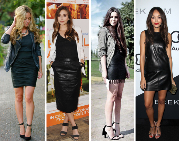 Dark romance leather trend
