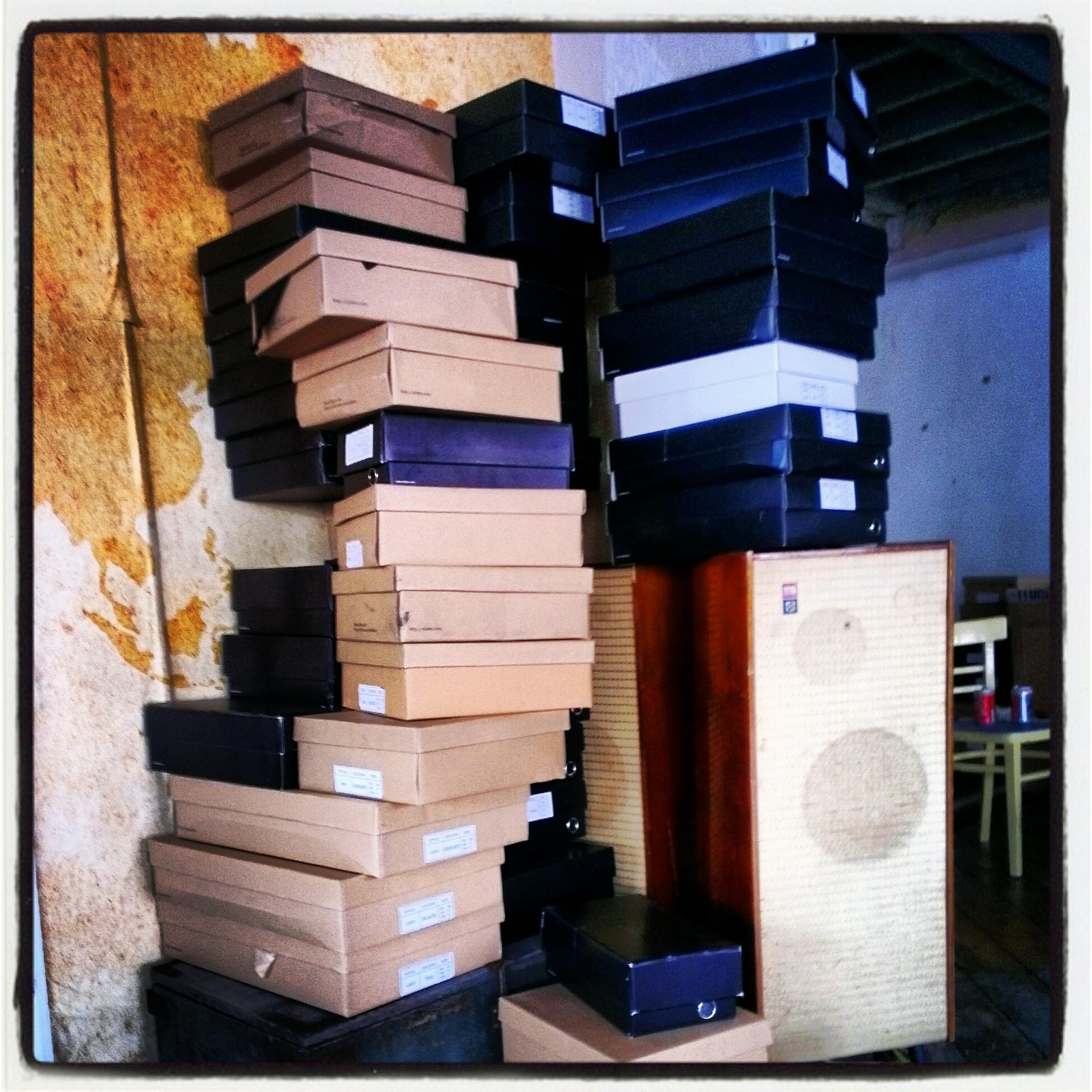 Miista shoe boxes