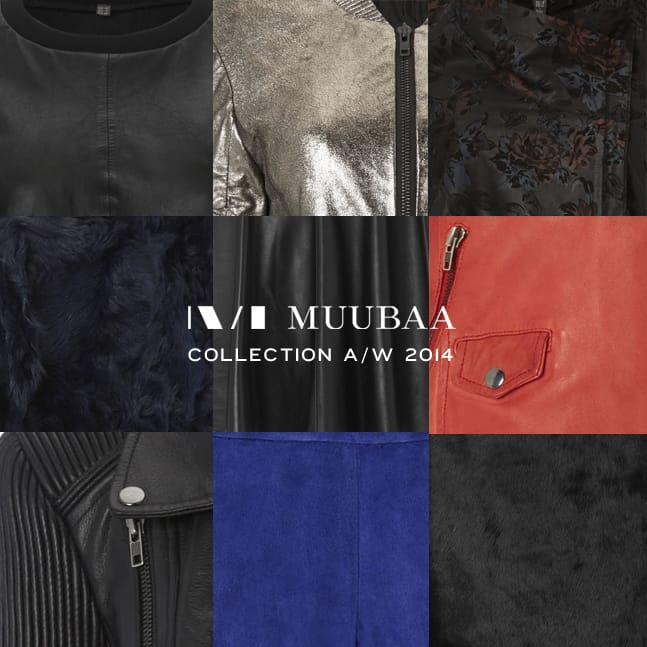 As the dust settles on London & Paris Fashion Weeks, we reveal a glimpse of the forthcoming Muubaa Autumn/Winter 2014 collection