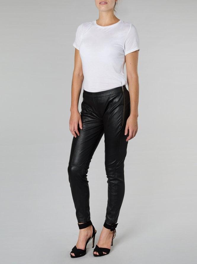 Astrantia Leather Leggings