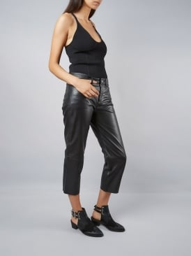 Blake Black High Wasted Trousers
