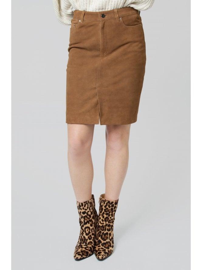 Bonatea Suede Skirt