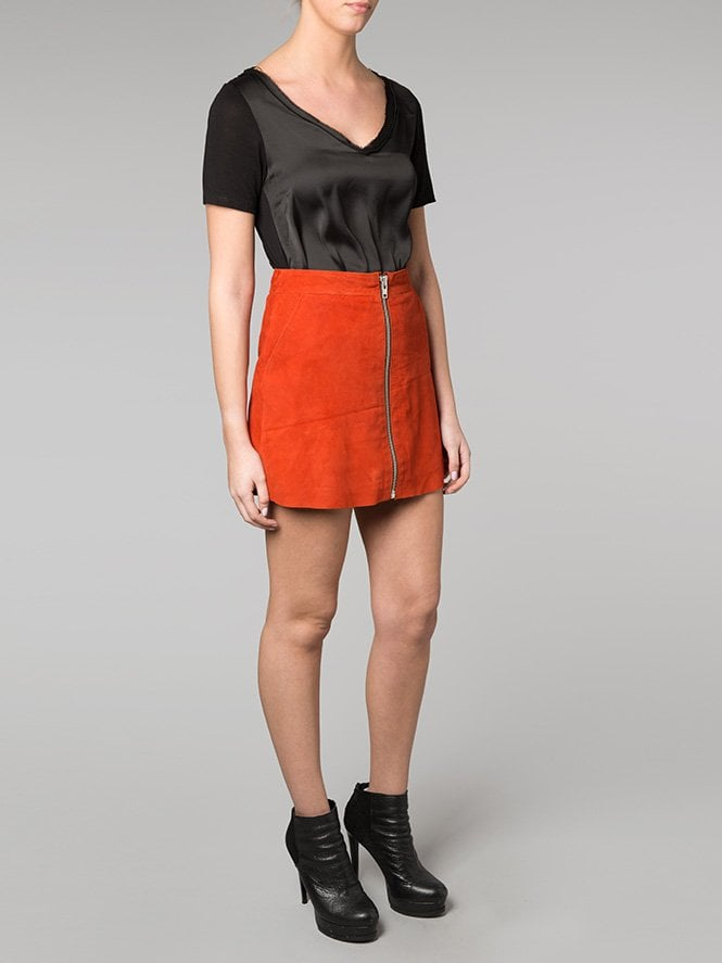 Impala Suede Mini Skirt
