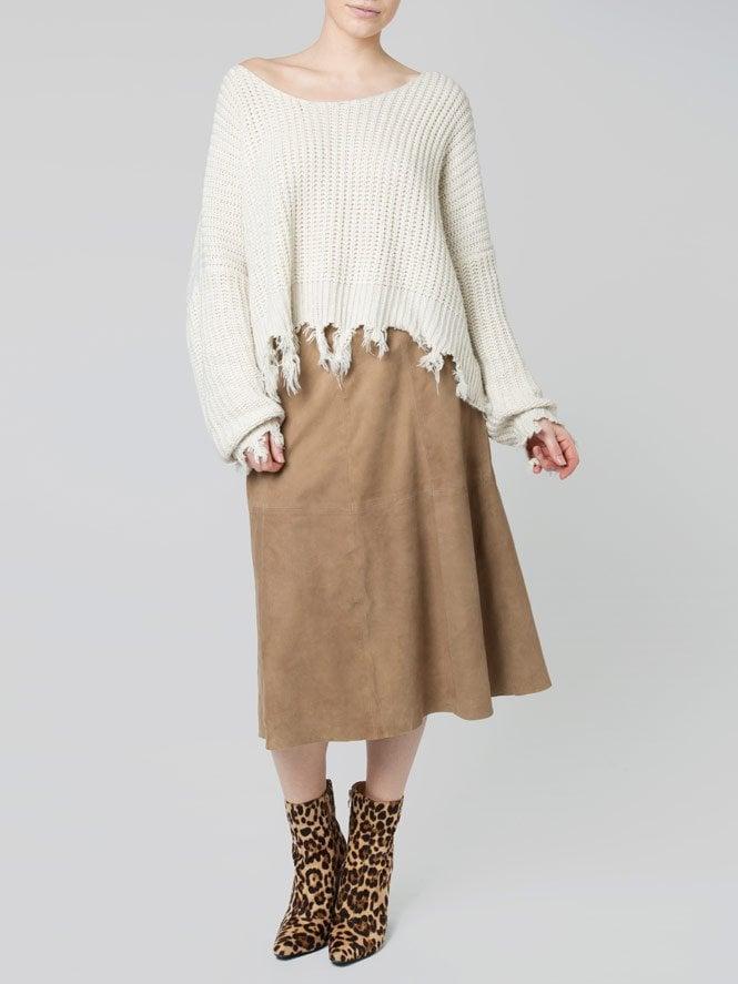 Jumellea Suede Skirt
