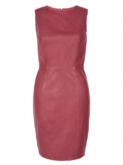 Kacco Red Leather Dress
