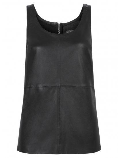 Mangi Sleeveless Top in Black