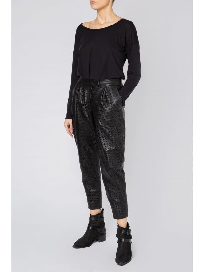Perforated Trousers