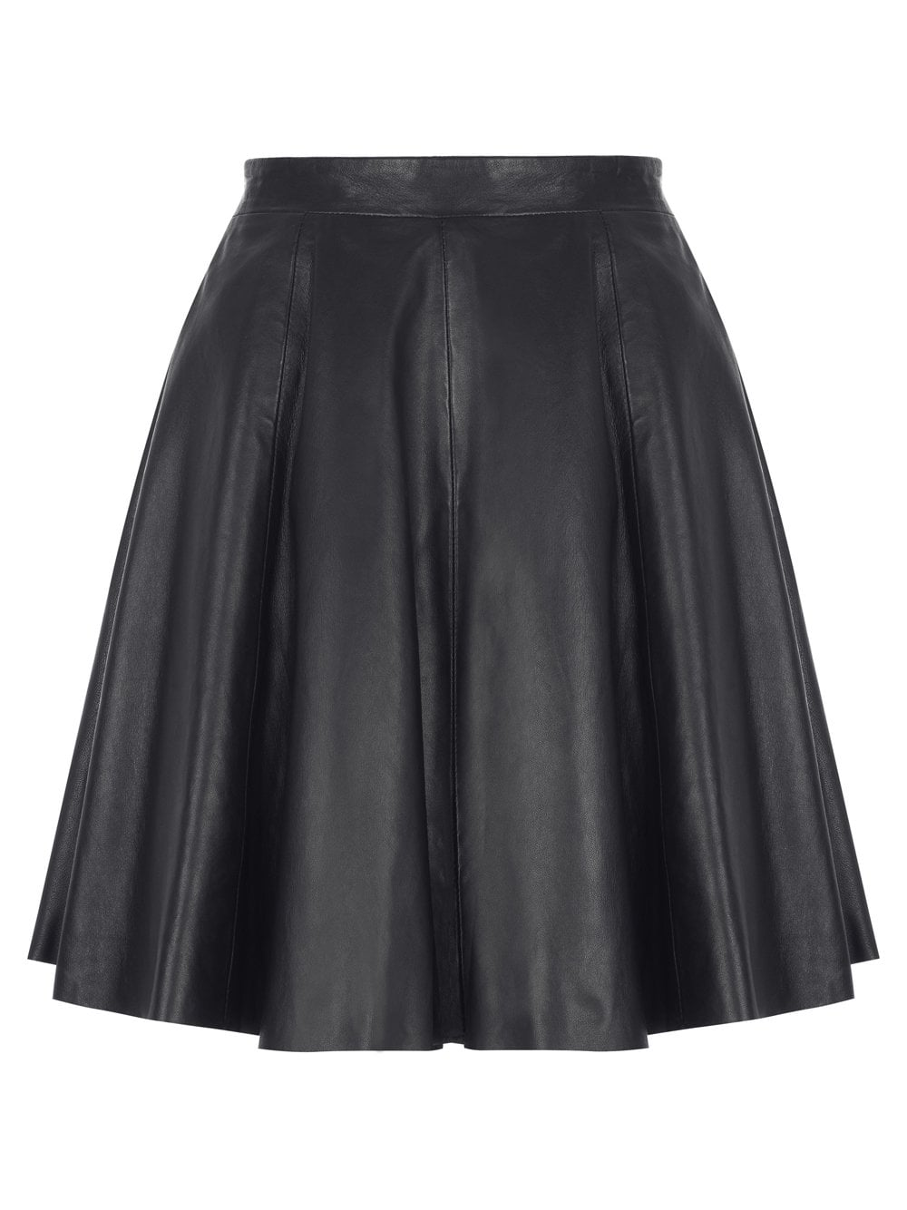 presenting outlet on sale wholesale price Pipri Leather Skater Skirt in Black