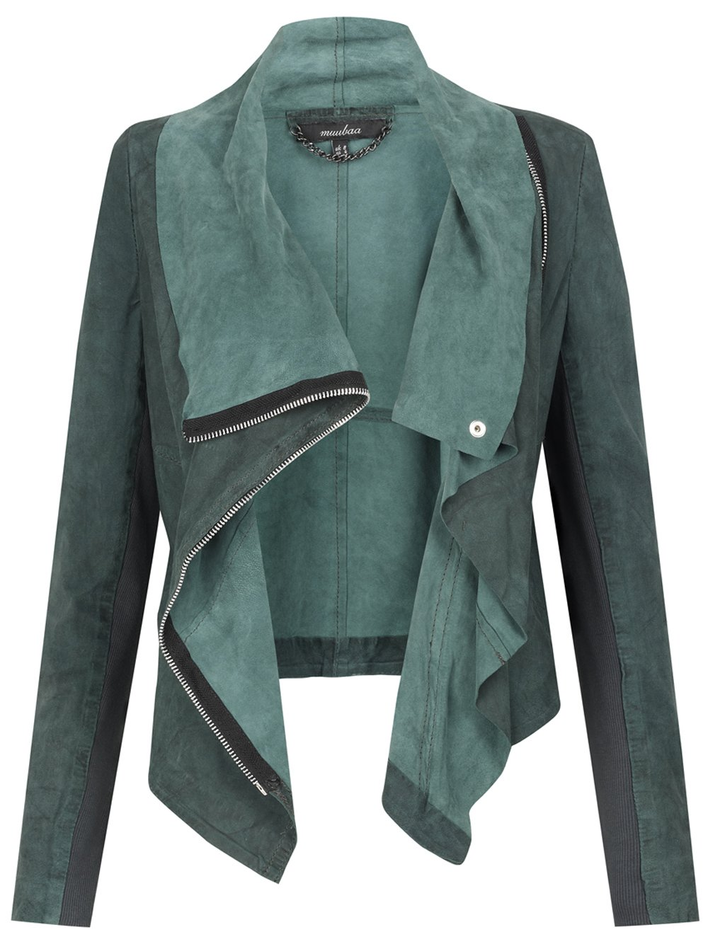 Suede Jacket Outfits For Men 20 Ways To Wear A Suede Jacket: Alexis Drape Suede Jacket In Cyan