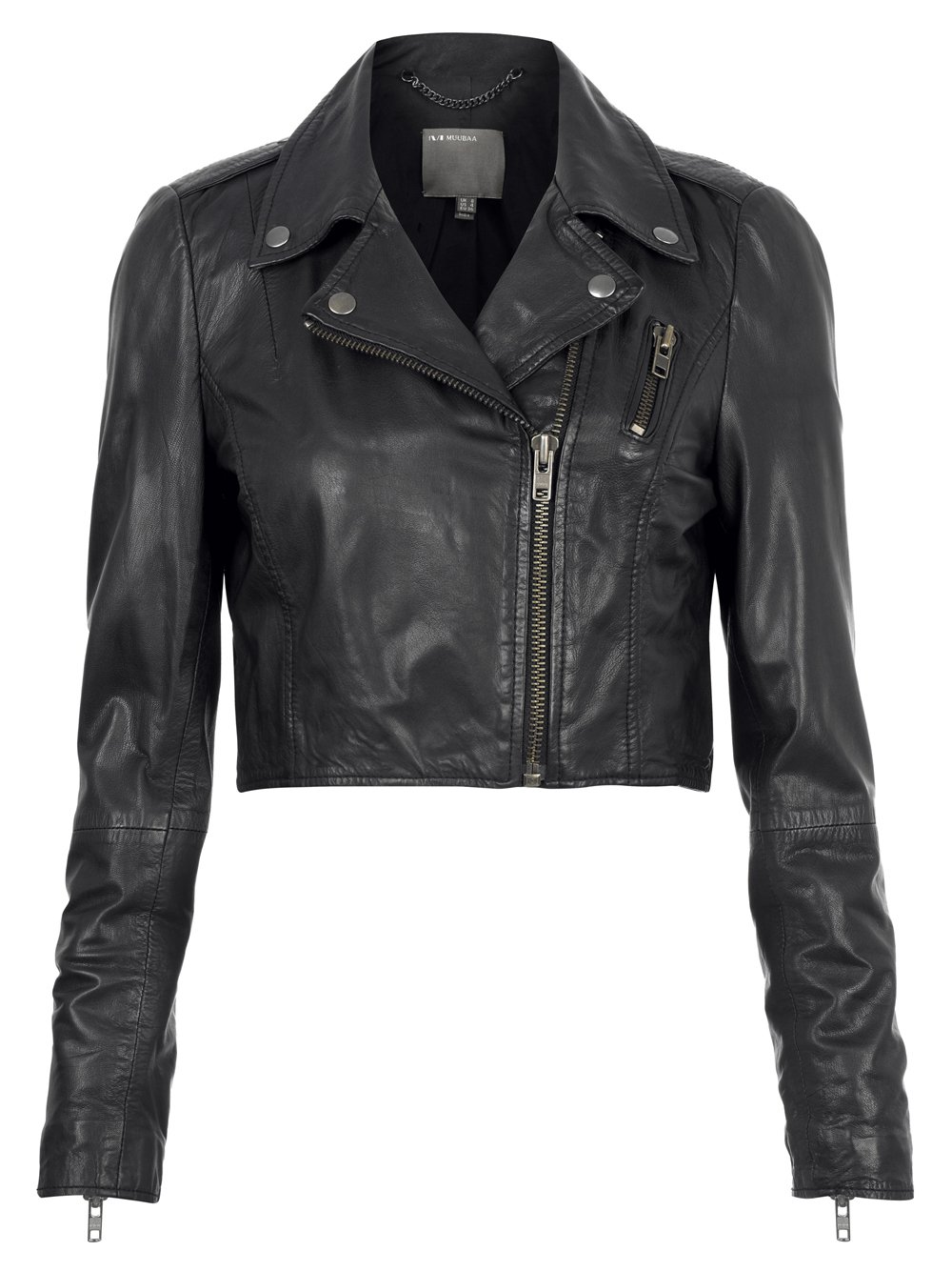 Kristin Cavallari Black Leather Cropped Jacket Women. Description: Kristin Cavallari is notable for her style and magnificence whatever she wear simply move toward becoming style this is the reason here is an extraordinary news for every one of her fans and it is that now they can wear Kristin Cavallari Black Leather Cropped Jacket and impact their style like fefdinterested.gq shade of this coat.