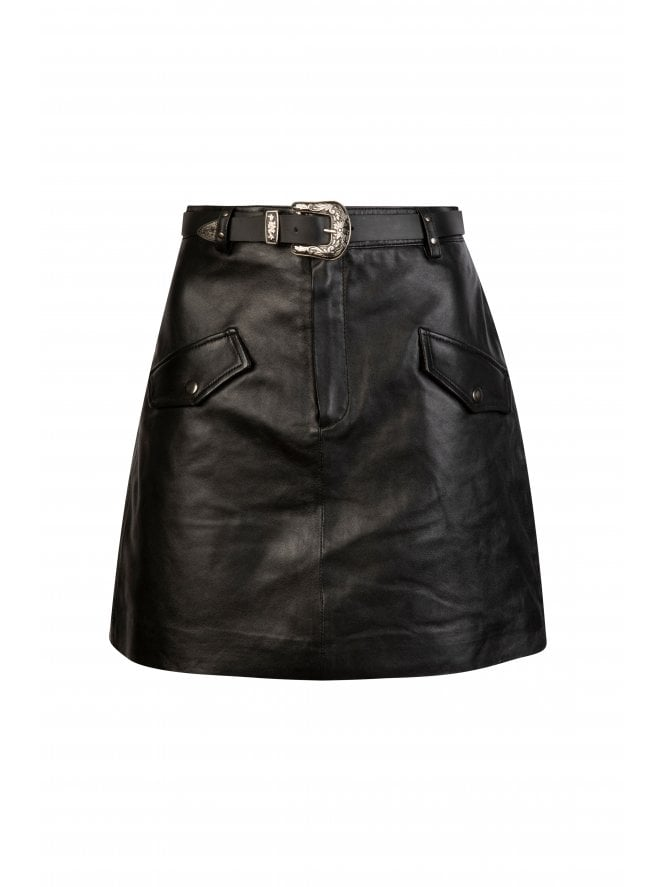 Valeria Belted Skirt