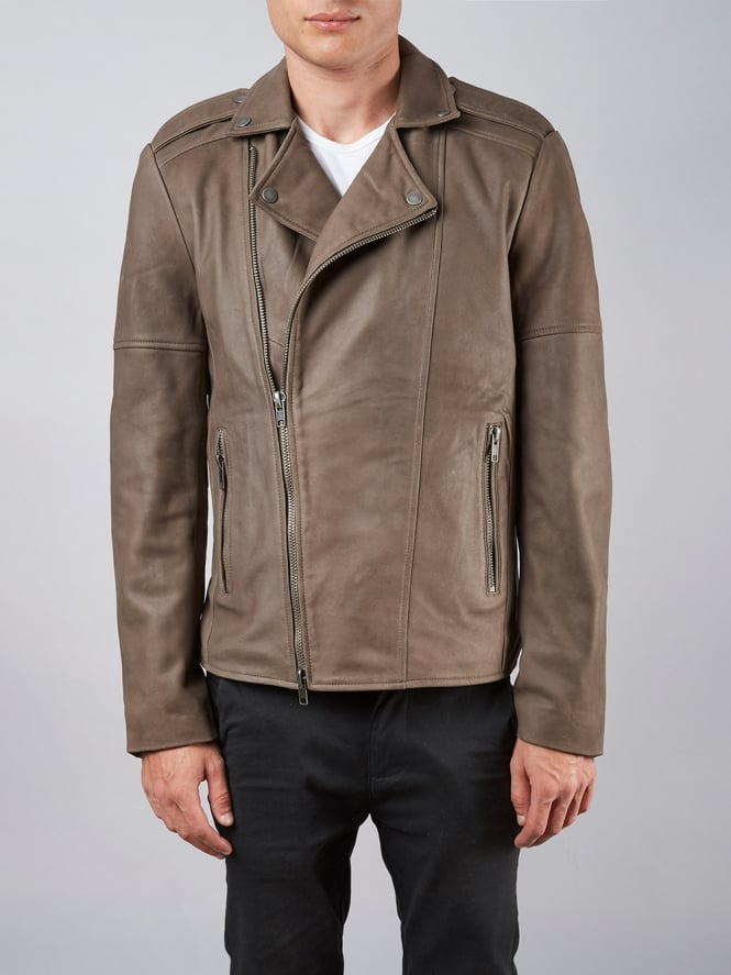 Volante Mink Biker Leather Jacket