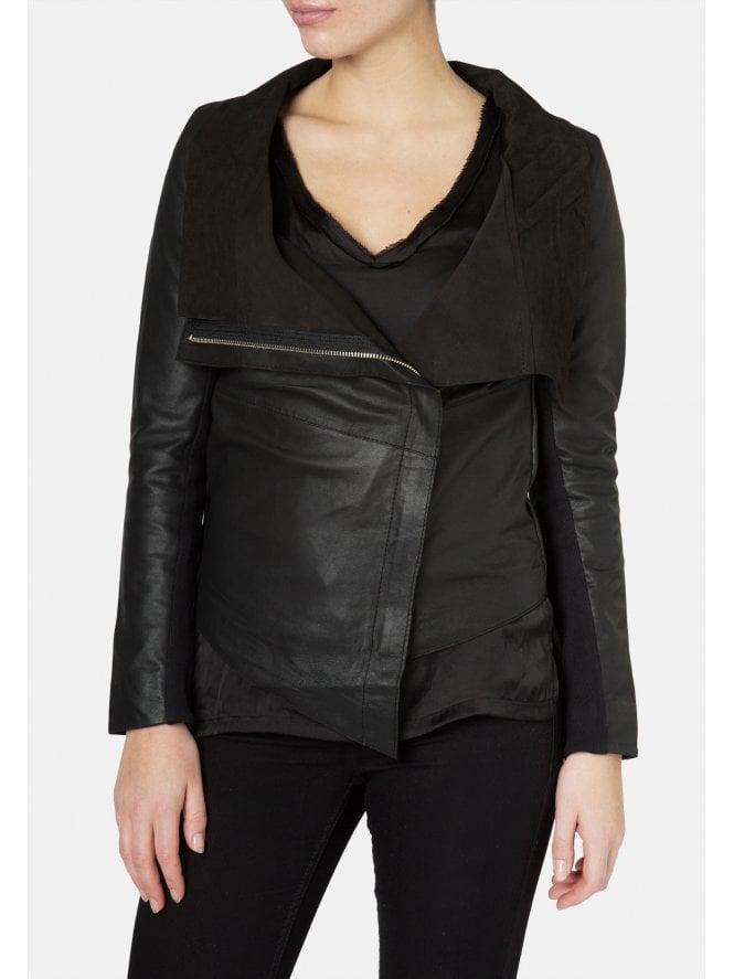Yogi Black Leather Jacket